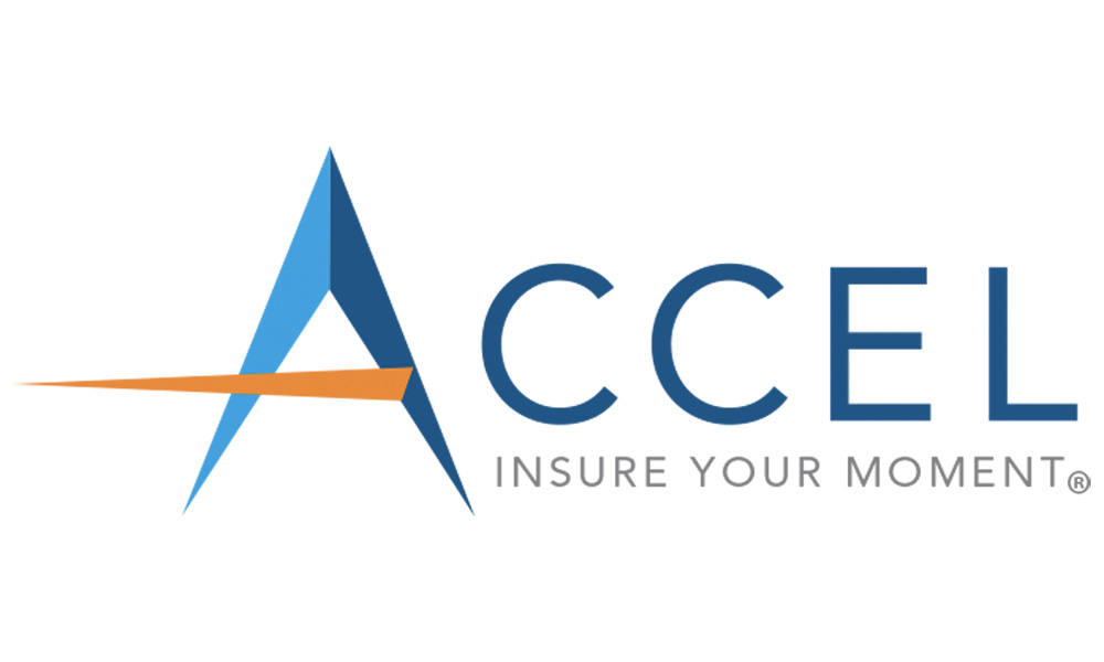 The Accel Group Acquires New Tagline - Accel Group Logo With New Trademark Insure Your Moment